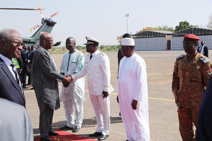 SNC Bobo 2018 : Le président du Faso accueilli en grande pompe