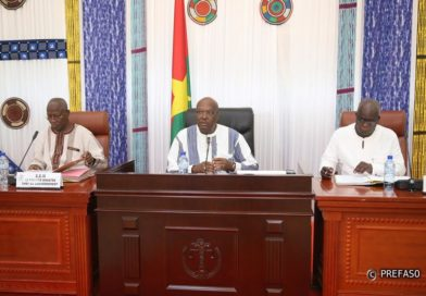 Mesures préventives contre le coronavirus : le président du Faso appelle à la responsabilité de tous.